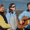 Artemis Retreat by the Sea, 2008.  Shown:  Jill Sahlstrom, Janet Lee Carey, and Margaret D. Smith.  <br /> photo credit:  Heidi Pettit