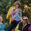 Partial Group Portrait - L to R: Janet Lee Carey (author), Heidi Pettit (artist, photographer), Jill Sahlstrom (artist), and Katherine Grace Bond (author)<br /> Missing: Margaret D. Smith (poet, musician), Dawn Knight (author), Lisa Sheets (sculpture, artist)