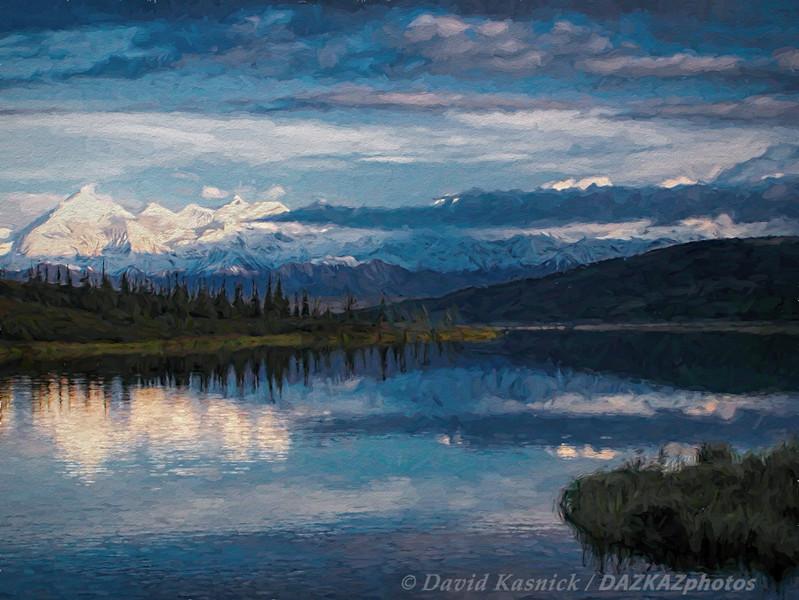 Wonder Lake at Sunset