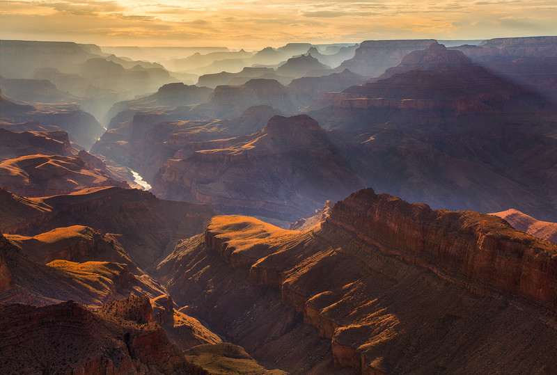Evening Light at Grand Canyon National Park
