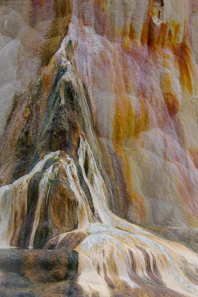 Yellowstone drip painting