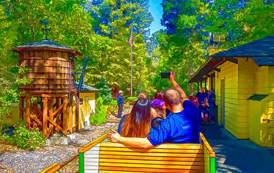 Train Ride In The Park