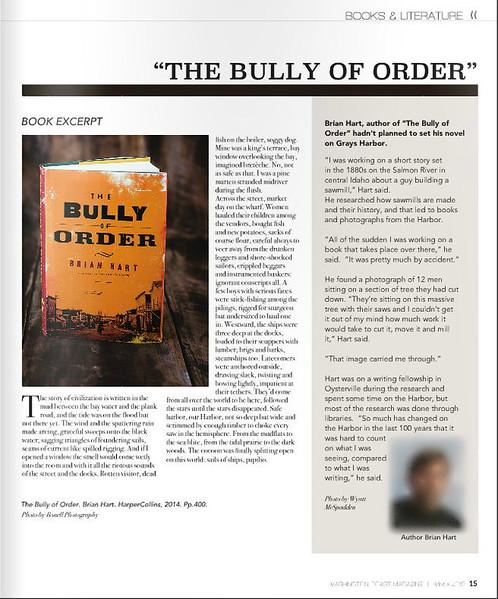 Featured in Washington Coast Magazine