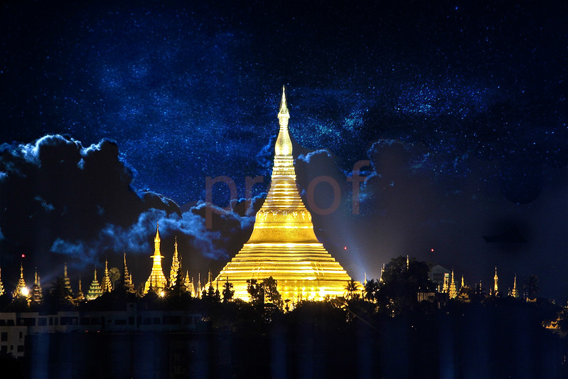 Yangon (Rangoon), Myanmar (Burma): Exotic, tropical beauty