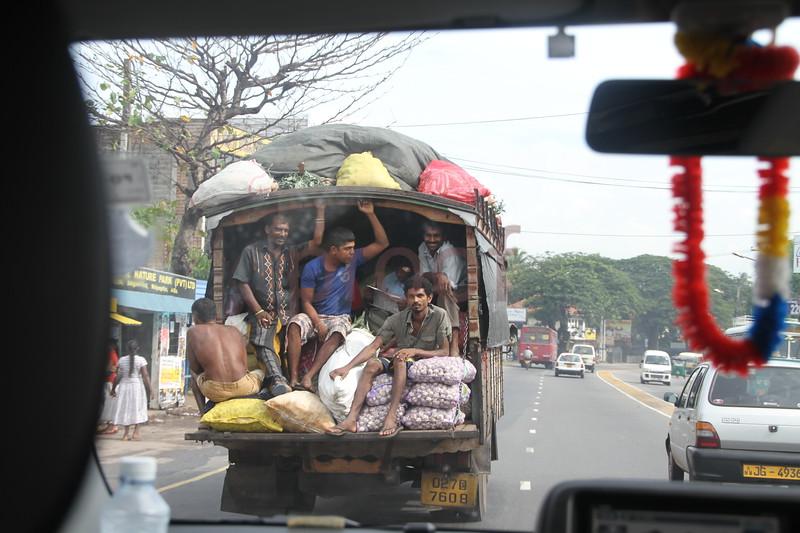 Columbo, Sri Lanka capital : Portrait