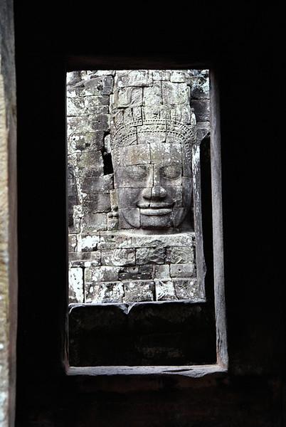 Angkor Thom--Bayon Temple doorway