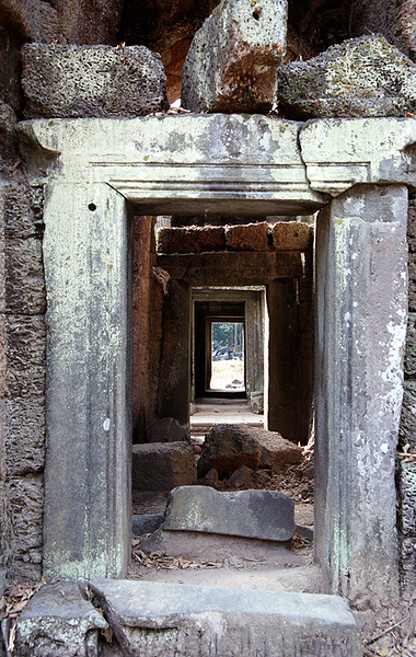 Ta Prohm doorway