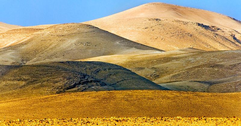 Desert layers, Negev near Masada