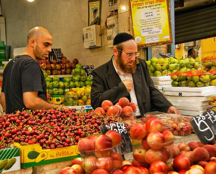 Jerusalem, Yehuda Machane market