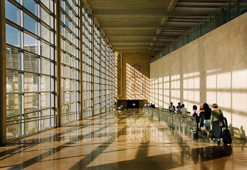Arrival hall, Ben Gurion Airport