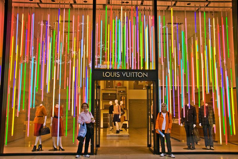 Tokyo, Louis Vuitton store in Yanaka area