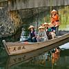 Kurashiki, old town canal scene