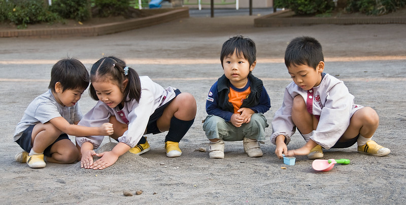 Tokyo, Meiji Shrine, playground