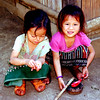 Hmong village kids