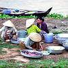 Mekong women preparing food
