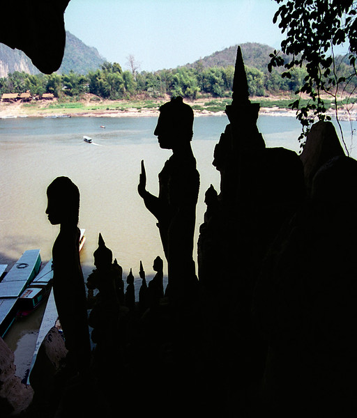 Laos--Cave of 1000 Buddhas