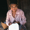 Laos, village woman