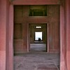 Fatehpur Sikri (near Agra) red sandstone building doorway