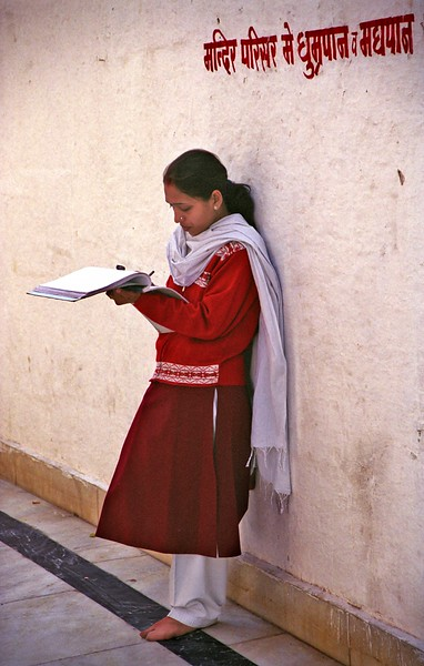 Udaipur, student at Jagdish Temple