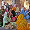 Udaipur, women chanting at Jaglish Temple