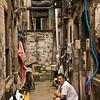 Alley in old Jewish ghetto area