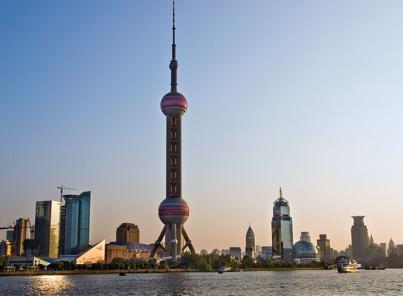 Pearl Tower, Pudong