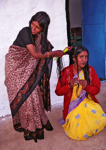 Hair appointment, Toda village