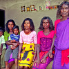 Women and children, Paniya village