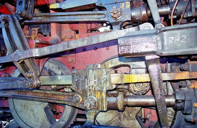 At locomotive repair shop, Nilgiris Mountain Railroad, Connoor (near Ooty)