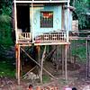 Chau Doc narrow house & kids