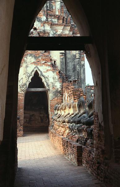 Thailand--Ayutthaya Wat Na Phramen
