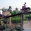 Copy of Bikers on bridge near Can Tho