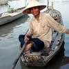 Chau Doc woman on Mekong