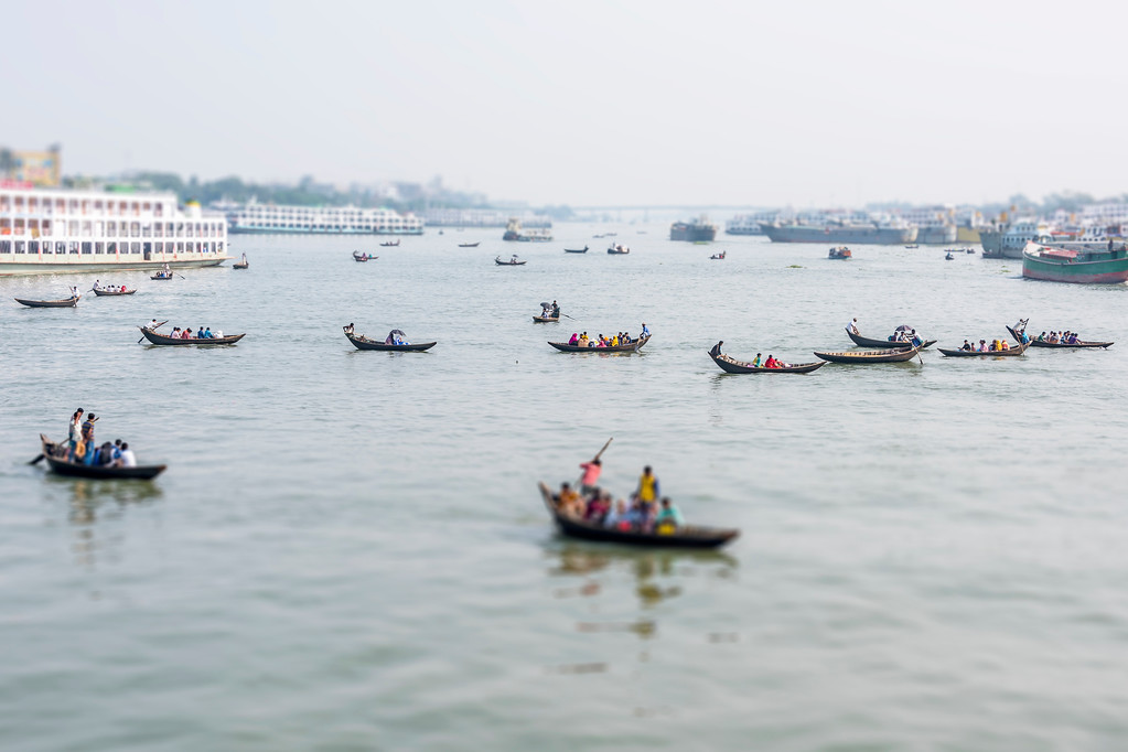 Boats of Dhaka - Dhaka, Bangladesh