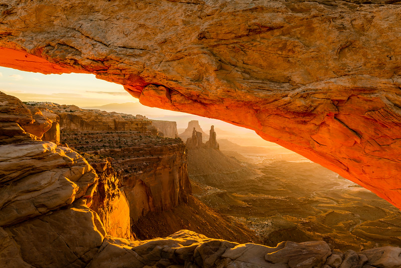 Mesa Arch in Moab's Canyonlands National Park