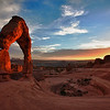 Delicate Arch in Moab's Arches National Park