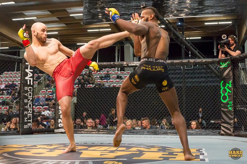 Hard Knocks Fighting Championship 54 @ Canada Olympic Park, Calgary, Alberta, Canada Mar 17 2017,