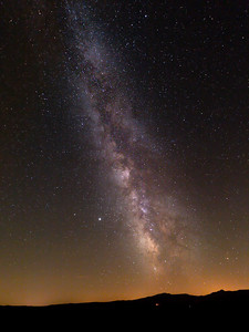 Milky way over France #08
