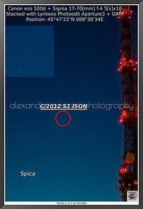 C/2012 S1 ISON November 16th 2013