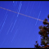Long Exposure - 20.94 minute exposure of stars after dark produced a nice blue sky.