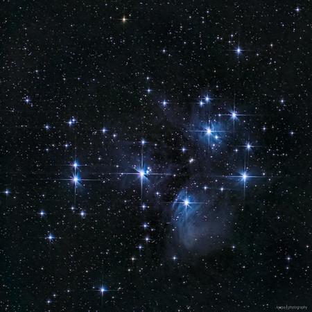 M 45 – Plejaden (Seven Sisters)