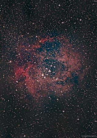 NGC 2244 – Rosetta nebula