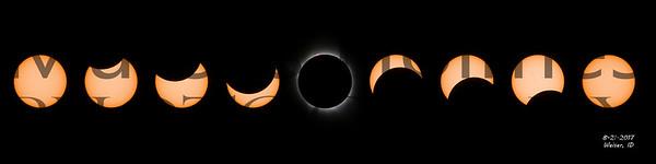 Great Solar Eclipse Mosaic
