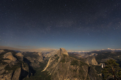 Halfway to Heaven || Half Dome, Yosemite National Park, CA