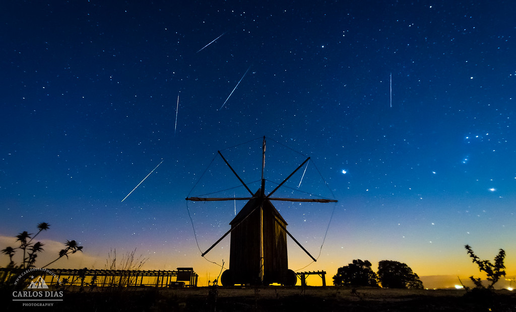 The Geminids Night at Outeiro