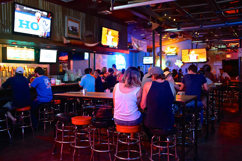 Colorful Interior, Docs on South Congress - Austin, Texas