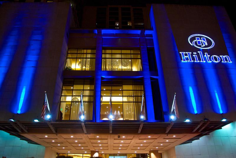 Hilton in Blue - Austin, Texas