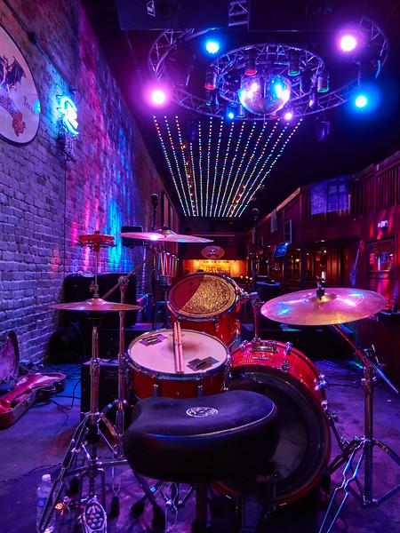 Empty Bat Bar, 6th Street - Austin, Texas