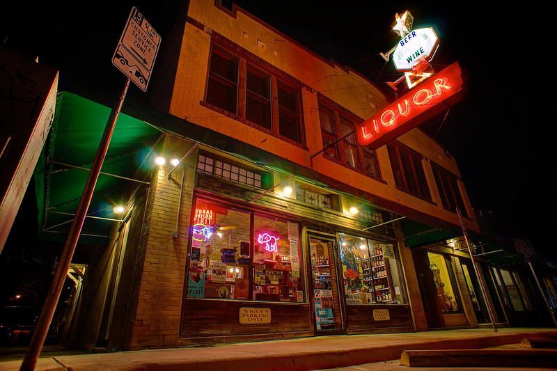 Late Night Liquor, Wiggy's - Austin, Texas