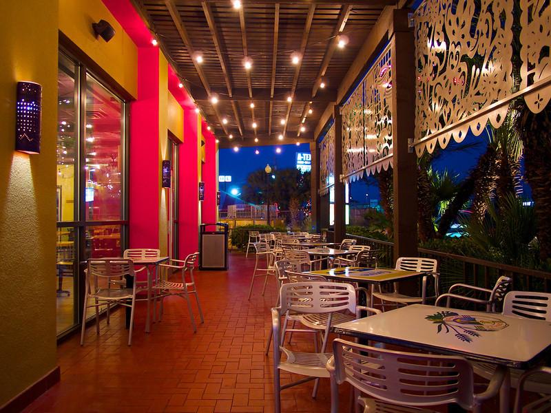 Patio, Taco Cabana - Austin, Texas